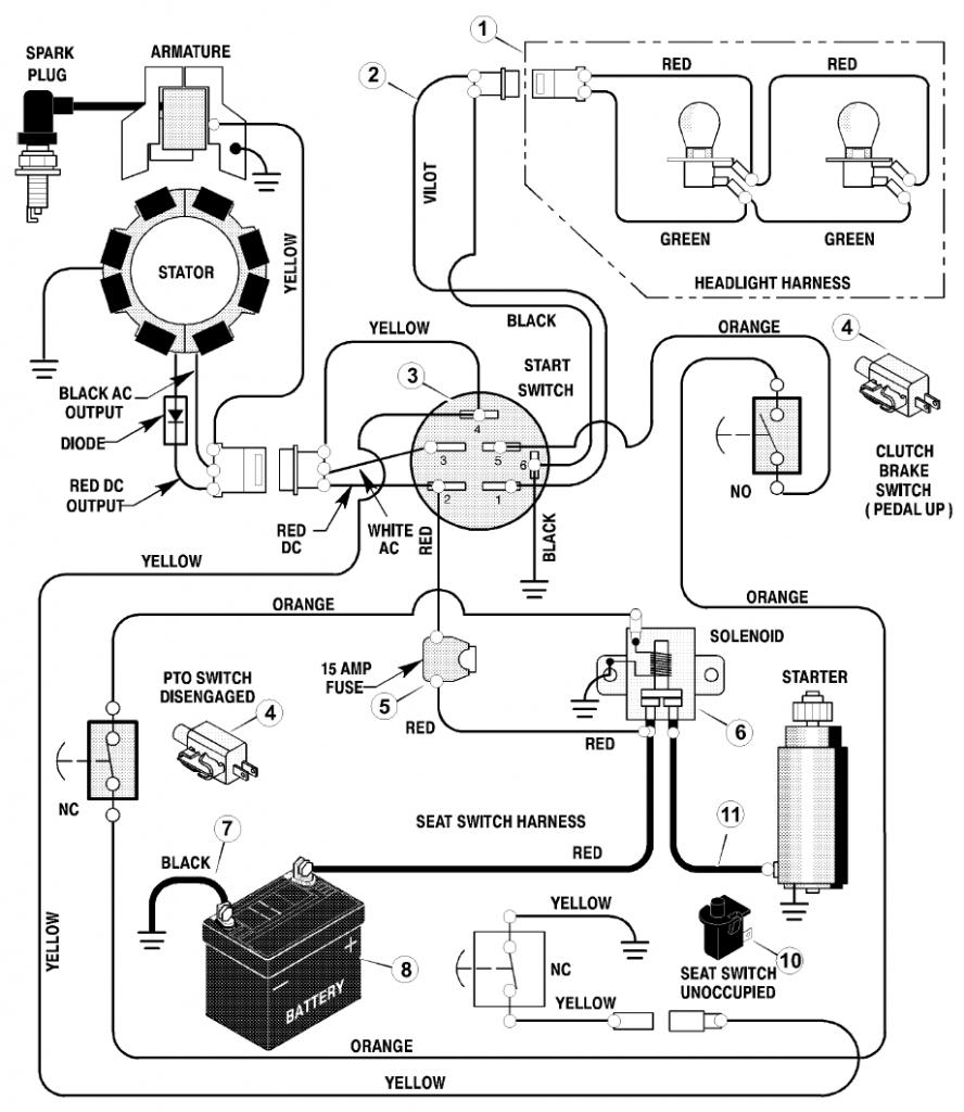 Wiring Diagram For Craftsman Lt1000 | Wiring Diagram - Craftsman Lt1000 Wiring Diagram