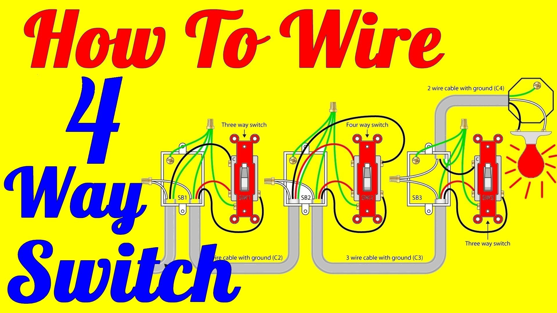 Wiring Diagram For Four Way Switch Rate Inspirational 4 Way Switch - 4 Way Switch Wiring Diagram Pdf