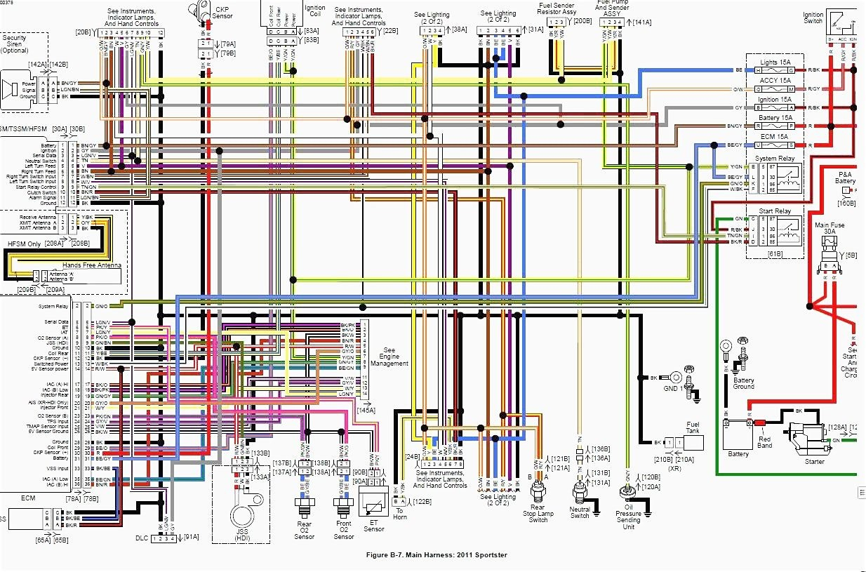 Wiring Diagram For Harley Davidson Softail | Schematic Diagram - Harley Davidson Wiring Diagram Manual
