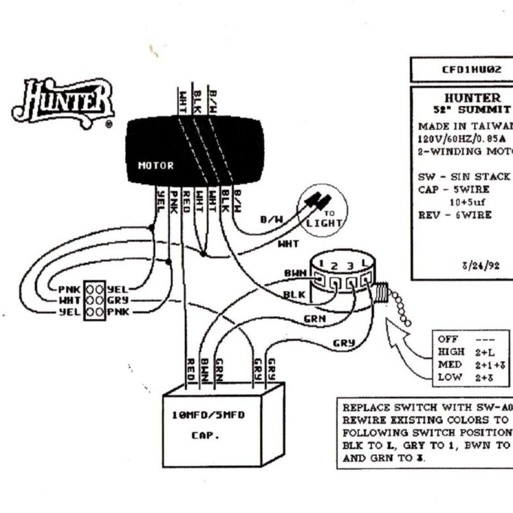 Wiring Diagram For Hunter Ceiling Fan With Light – Tariqalhanaee - Hunter Fan Wiring Diagram