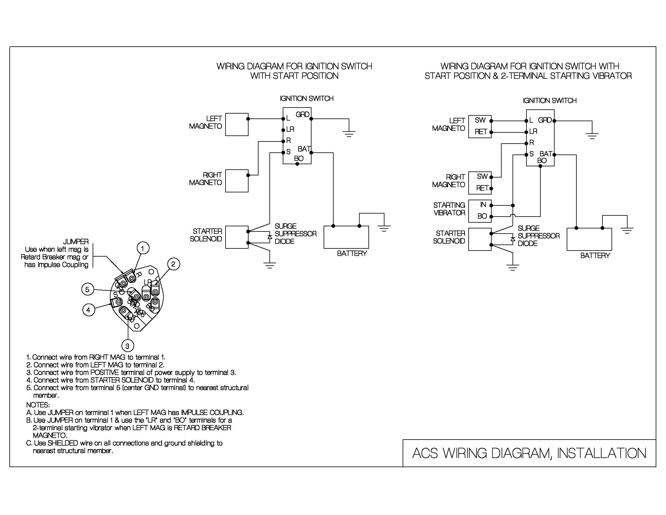 Wiring Diagram For Ignition Switch | Wiring Diagram - Ignition Switch Wiring Diagram