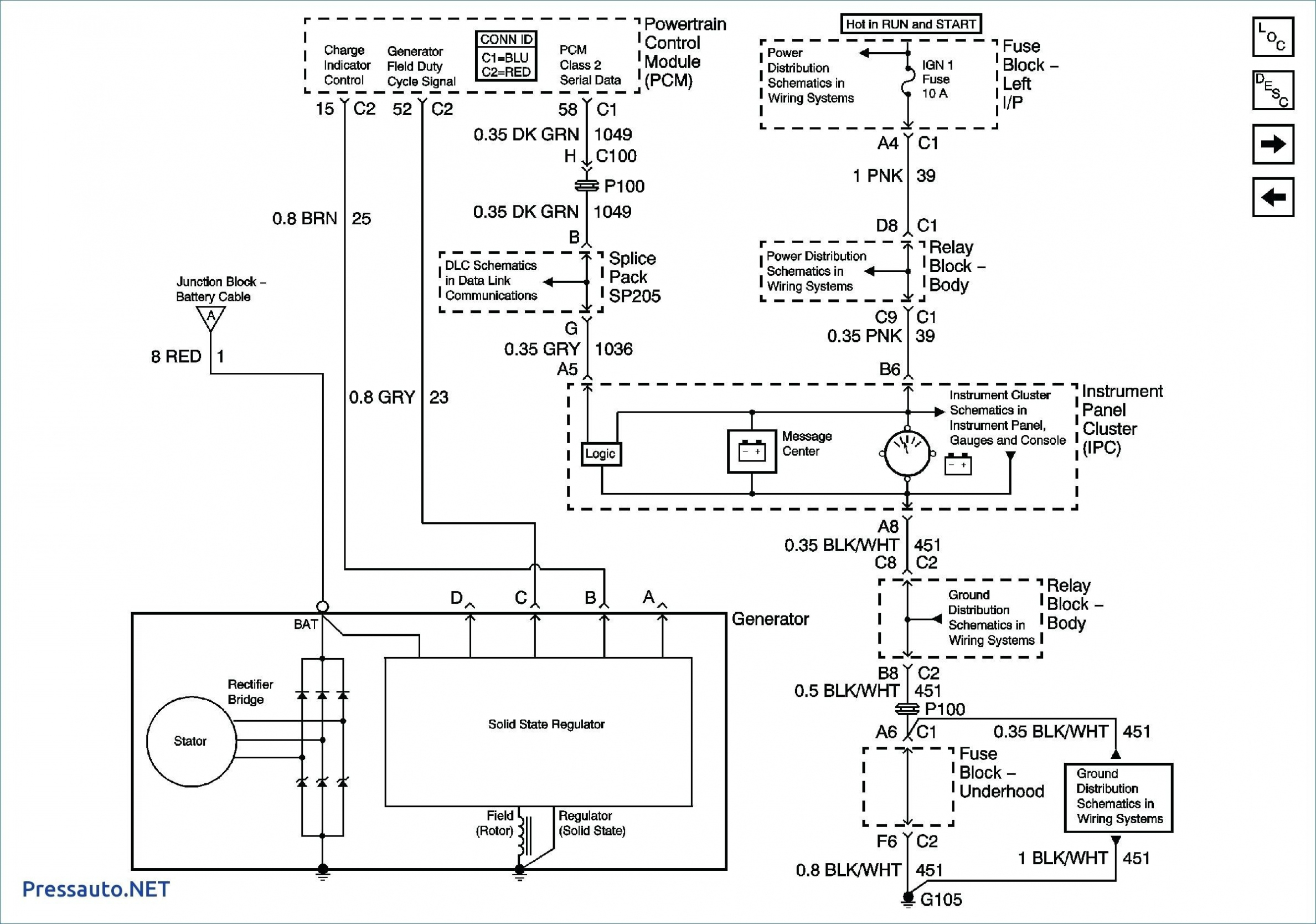 Wiring Diagram For Internally Regulated Alternator Save Gm – Gm - Gm Alternator Wiring Diagram Internal Regulator