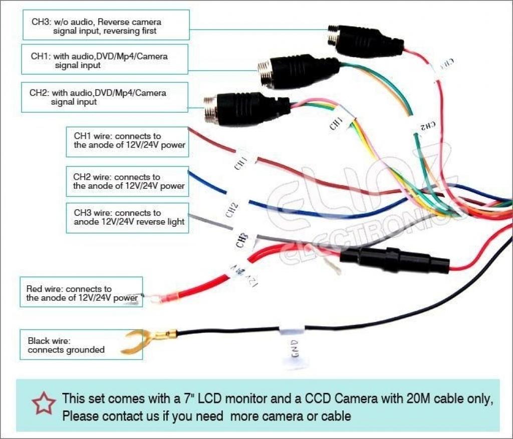 Wiring Diagram For Reverse Camera | Wiring Diagram - Toyota Reverse Camera Wiring Diagram