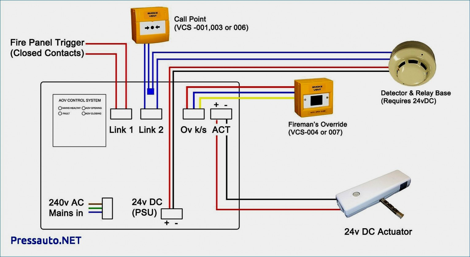 Wiring Diagram For Smoke Detectors Hard Wired - Wiring Diagrams Base - 2 Wire Smoke Detector Wiring Diagram