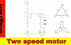 Wiring Diagram For Two Speed Motor. 3Ph 2 Speed Motor.   Youtube   220V Wiring Diagram