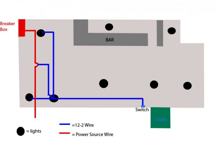 Wiring Recessed Lights In Parallel Diagram