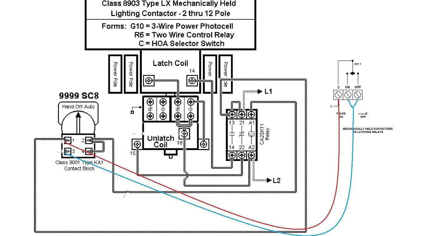 Wiring Diagram Lighting Contactor With Photocell - Wiring Diagram - Contactor Wiring Diagram