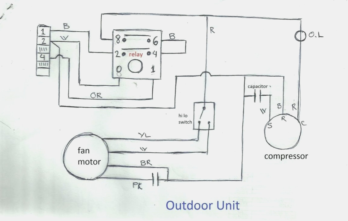Wiring Diagram Of Split Type Aircon - Wiring Diagram Detailed - Ac Wiring Diagram