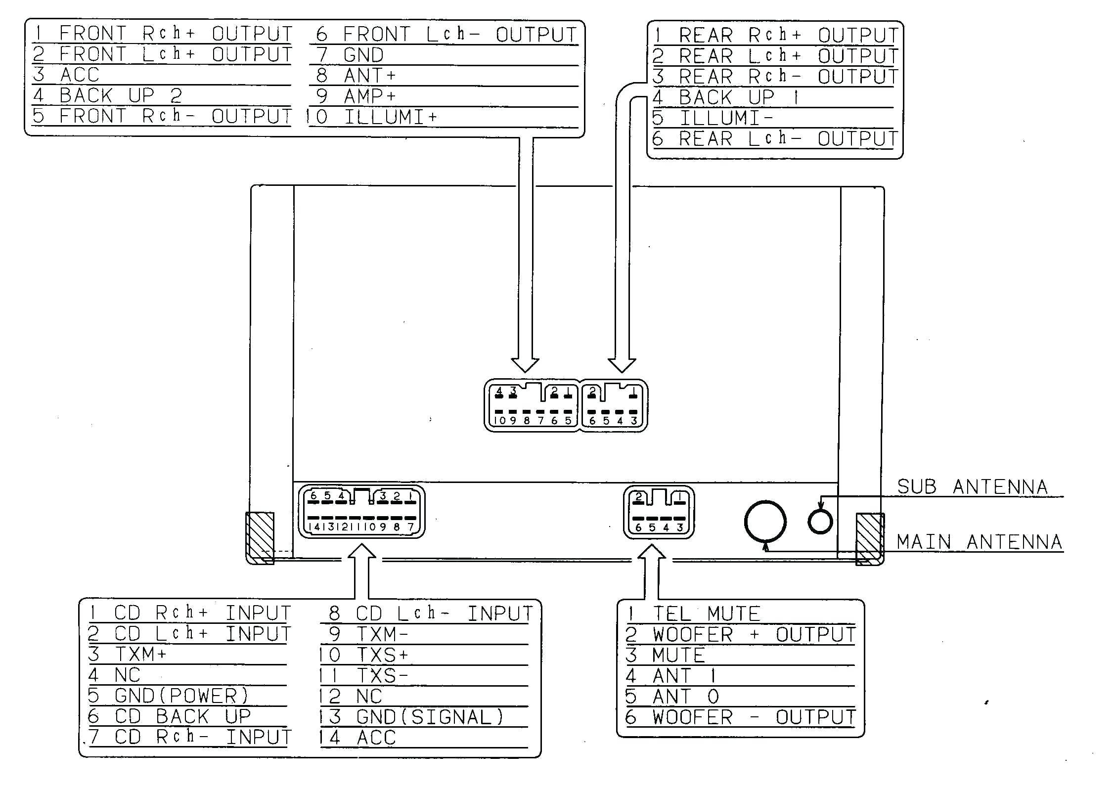 Wiring Diagram Pioneer Deh X1810Ub Best Of Amazing 19 5 - Pioneer Deh-X1810Ub Wiring Diagram