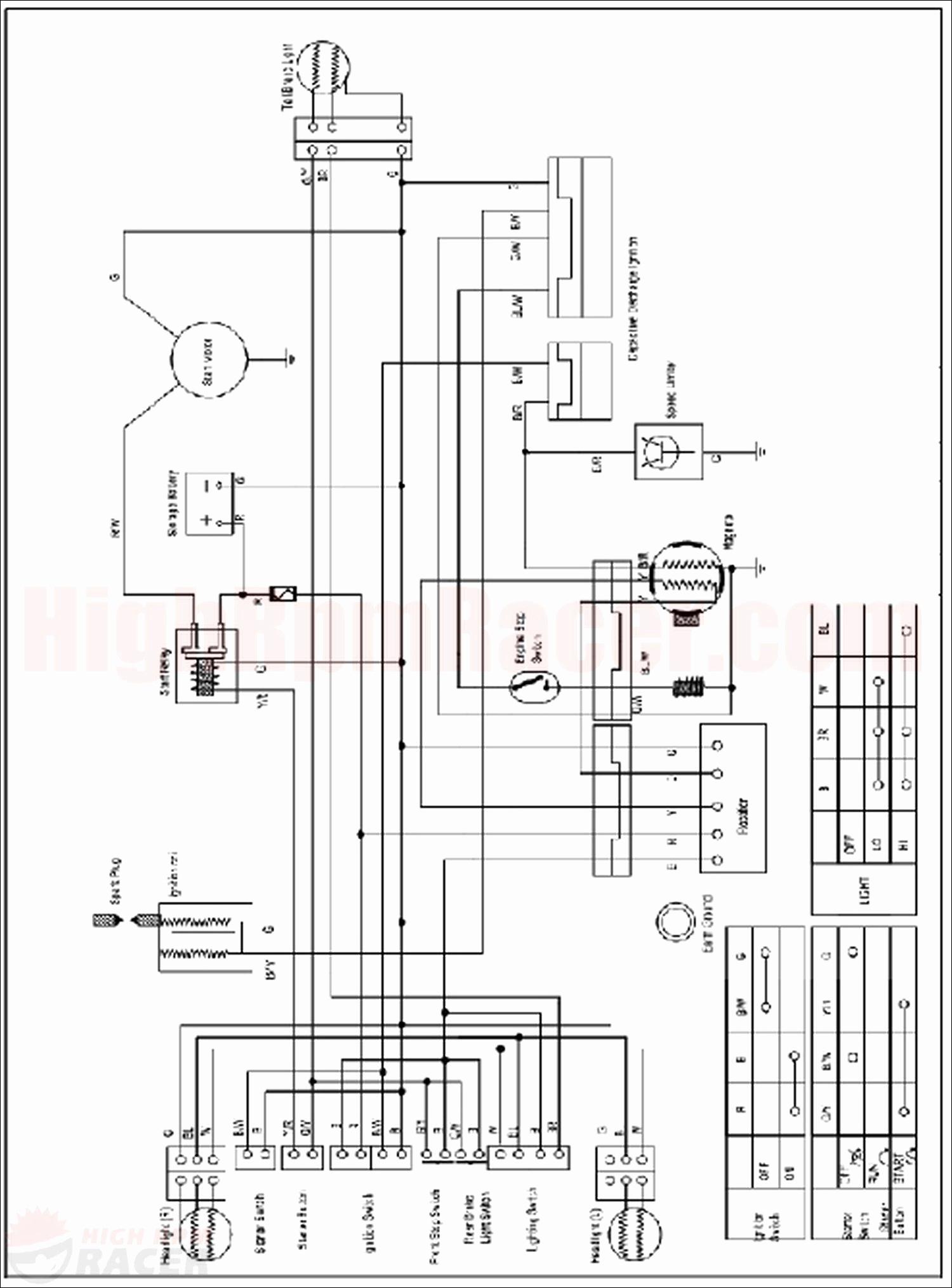 Chinese 125Cc Atv Wiring Diagram | Wirings Diagram on