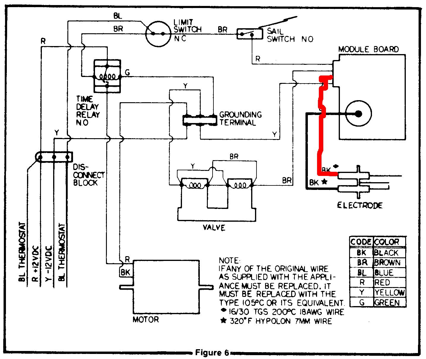 Wiring Diagram York Gas Furnace I Have   Manual E-Books - Gas Furnace Wiring Diagram