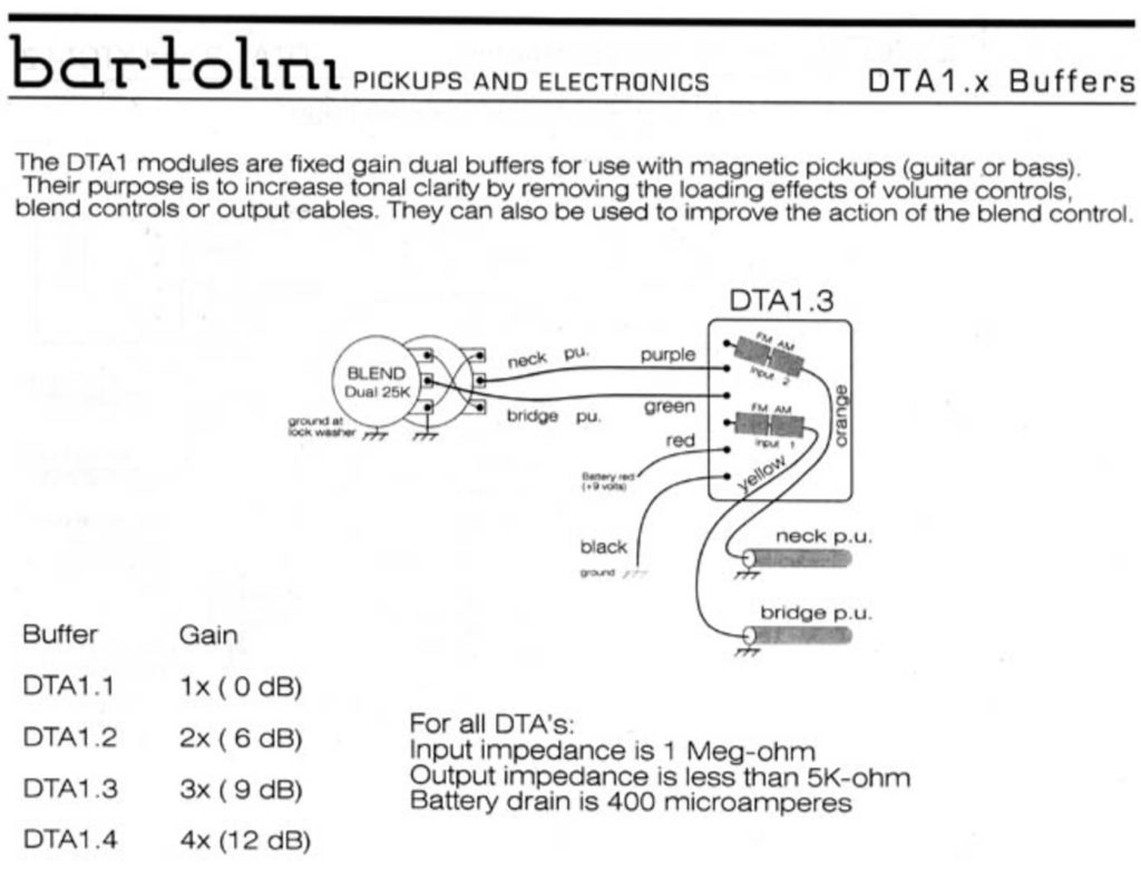 Wiring Diagrams - Bartolini Pickups & Electronics - Split Coil Humbucker Wiring Diagram