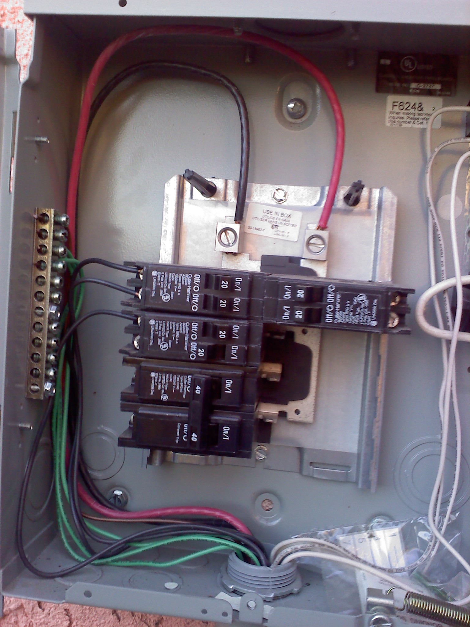 Wiring Electrical Sub Panels And Panels | Wiring Diagram - Electrical Sub Panel Wiring Diagram