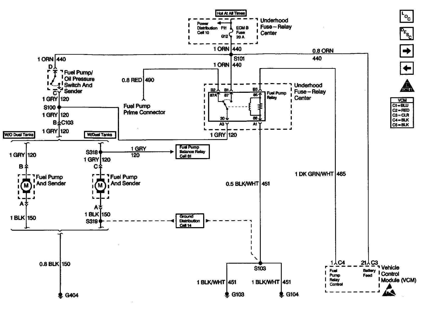 Wiring For 2000 Chevy Silverado 1500 Fuel System Diagram - Wiring - 2000 Chevy Silverado Fuel Pump Wiring Diagram