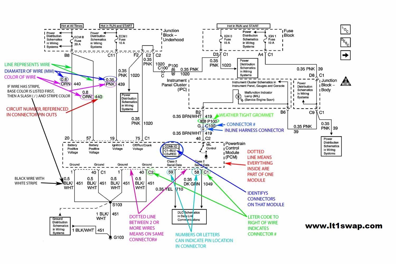 Wiring Harness Information - 4.3 Vortec Wiring Diagram