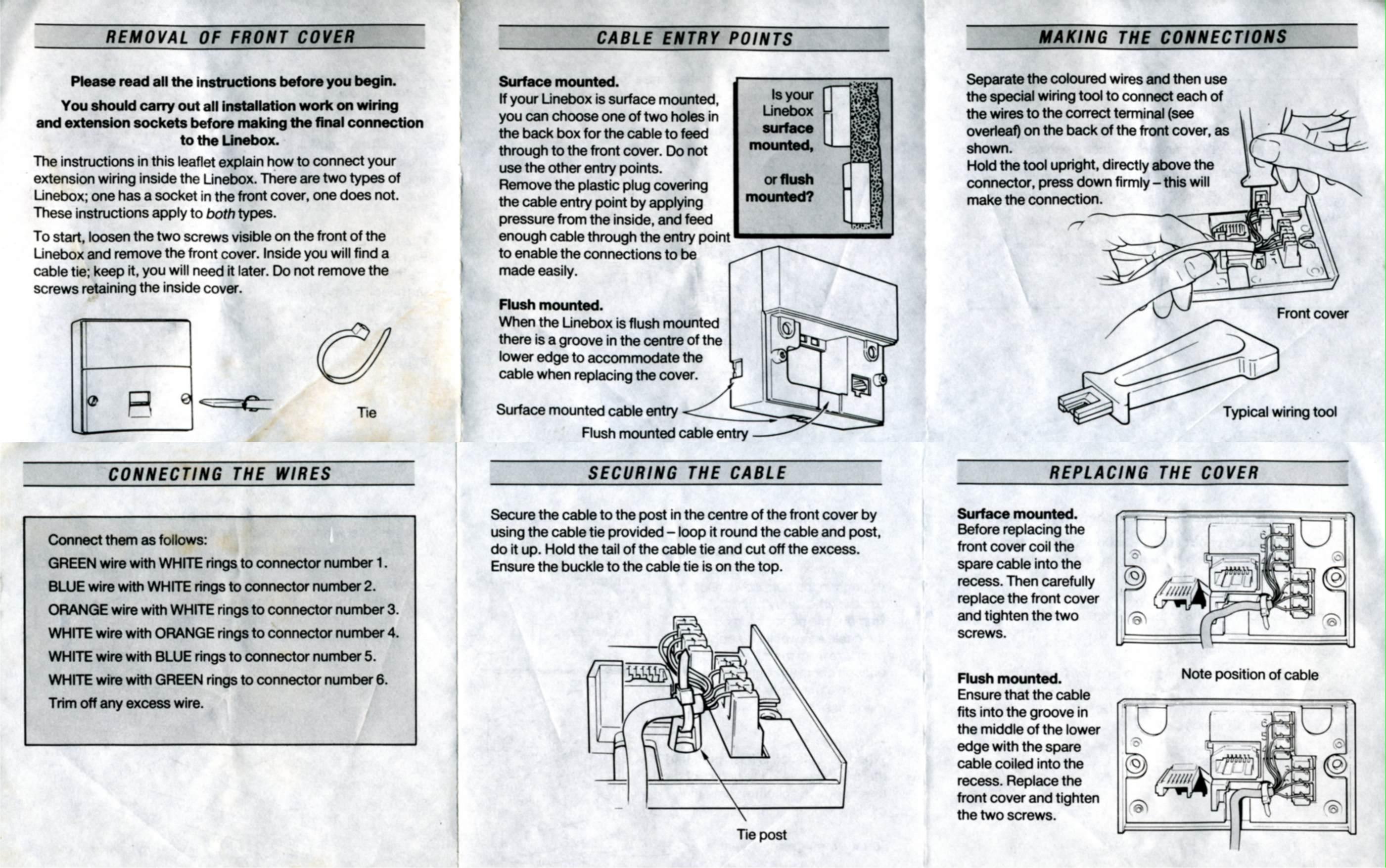 Wiring Information - 6 Way Trailer Plug Wiring Diagram