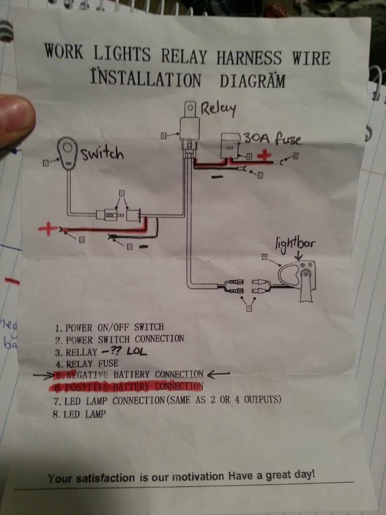 Wiring Light Bar To High Beam Switch | 4X4Earth - Autofeel Light Bar Wiring Diagram