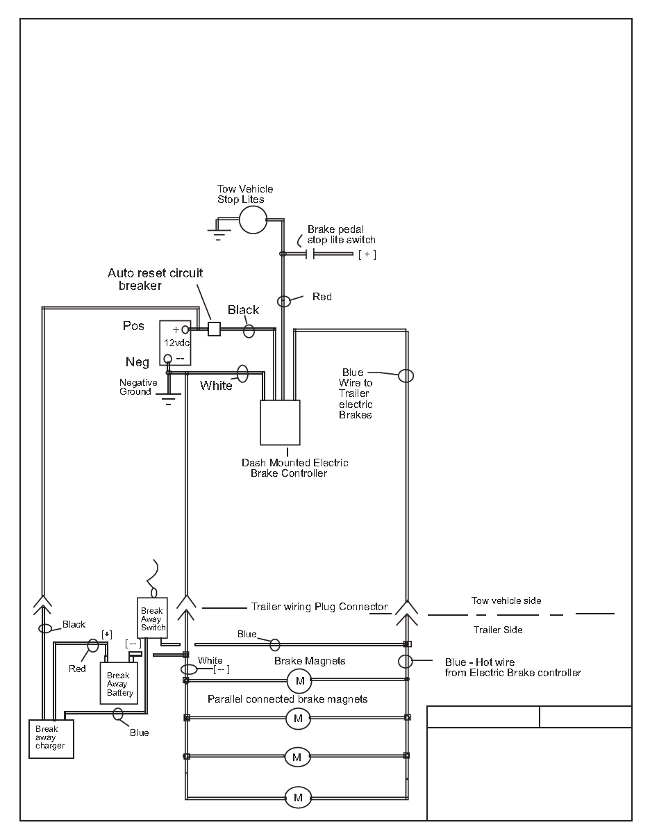 Wiring Power Trailer Brakes - Design Of Electrical Circuit & Wiring - Dodge Trailer Brake Controller Wiring Diagram