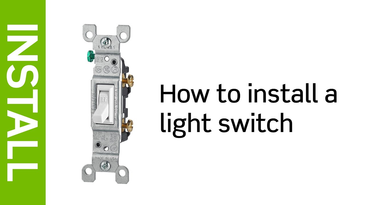 Wiring Single Pole Light Switch - Wiring Diagrams Hubs - Single Pole Light Switch Wiring Diagram