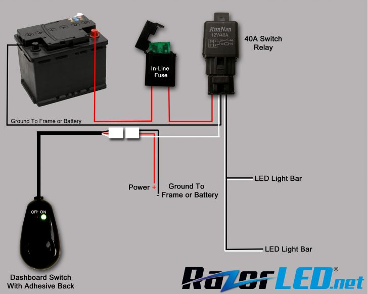 Led Light Bar Wiring Diagram
