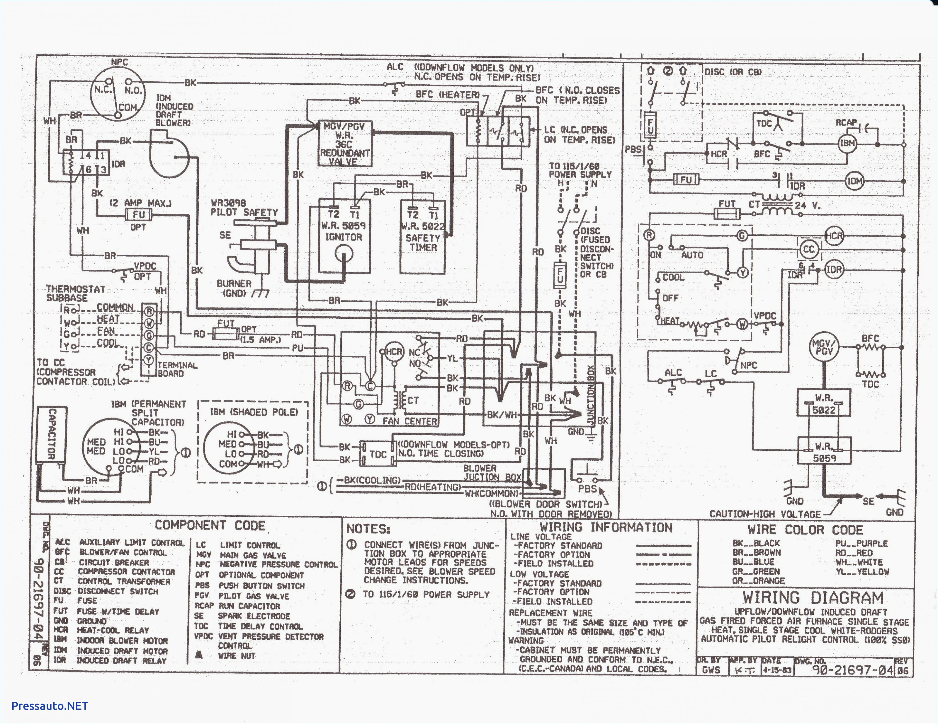 Wiring York Diagrams Furnace N2Ahd2Oao6C - Today Wiring Diagram - Coleman Mobile Home Electric Furnace Wiring Diagram