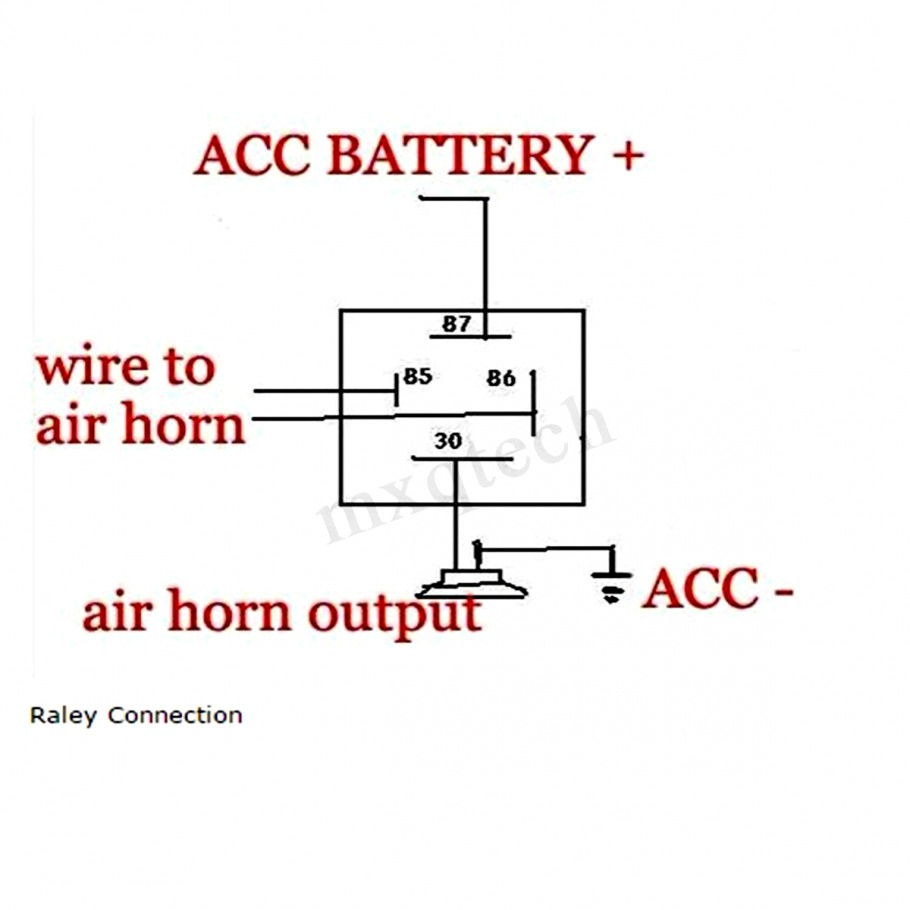 Wolo Horn Wiring Diagram - Wiring Diagram Data Oreo - Air Horn Wiring Diagram