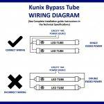 Wonderful Of Led Tube Light Wiring Diagram T8 Data   Wiring Diagram For Led Tube Lights