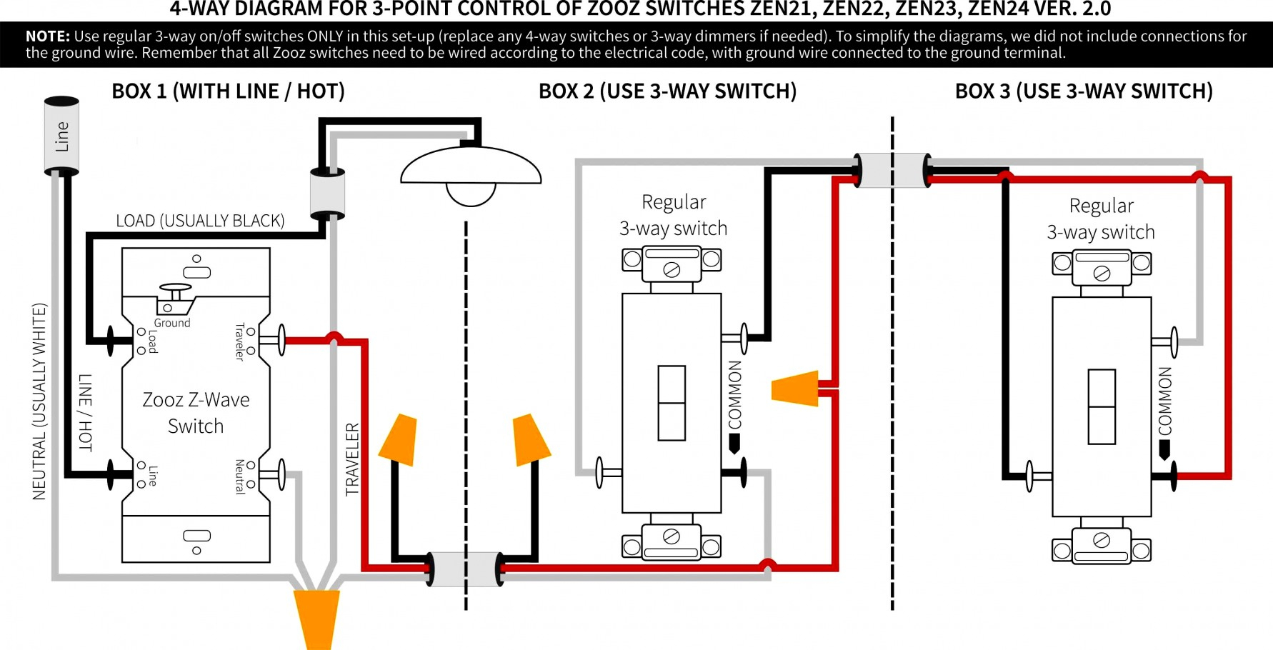 Wonderful Simple 3 Way Switch Wiring Diagram Video On How To Wire A - Three Way Wiring Diagram