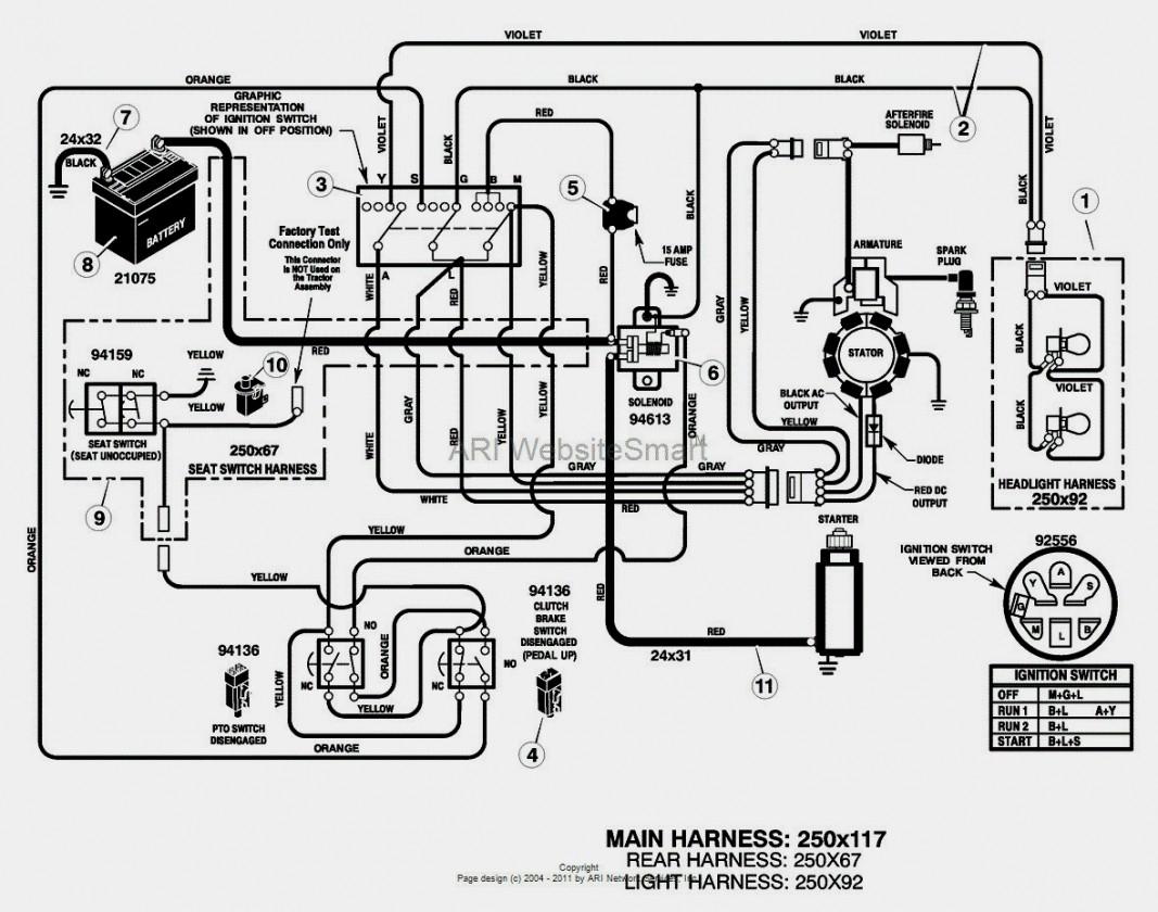 Wonderful Wiring Diagram For Huskee Lawn Tractor Troy Bilt Riding - Mtd Riding Lawn Mower Wiring Diagram