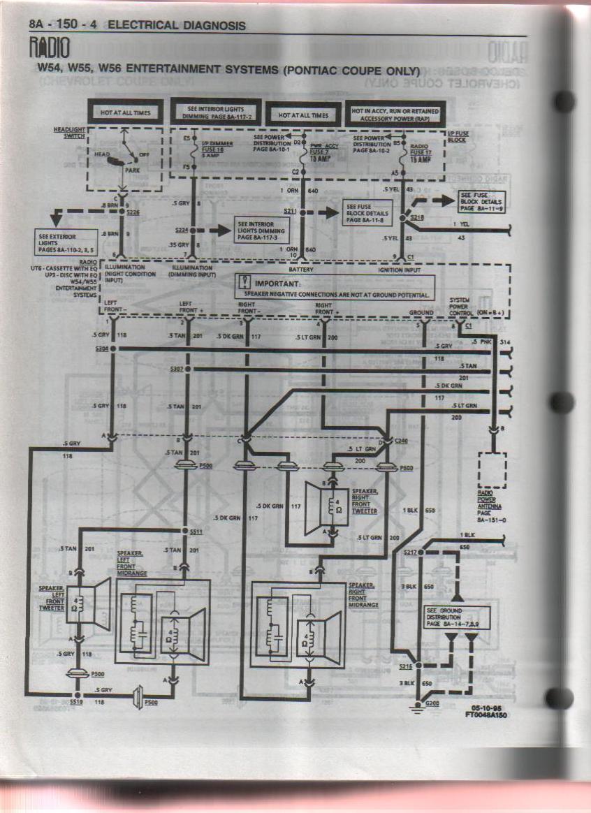 Wrg-9367] Grand Am Monsoon Stereo Wiring Diagram - Vw Monsoon Amp Wiring Diagram