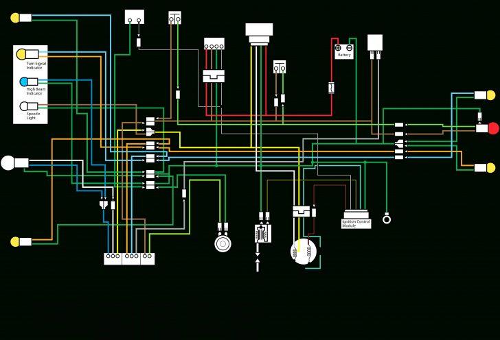 Honda Motorcycle Wiring Diagram