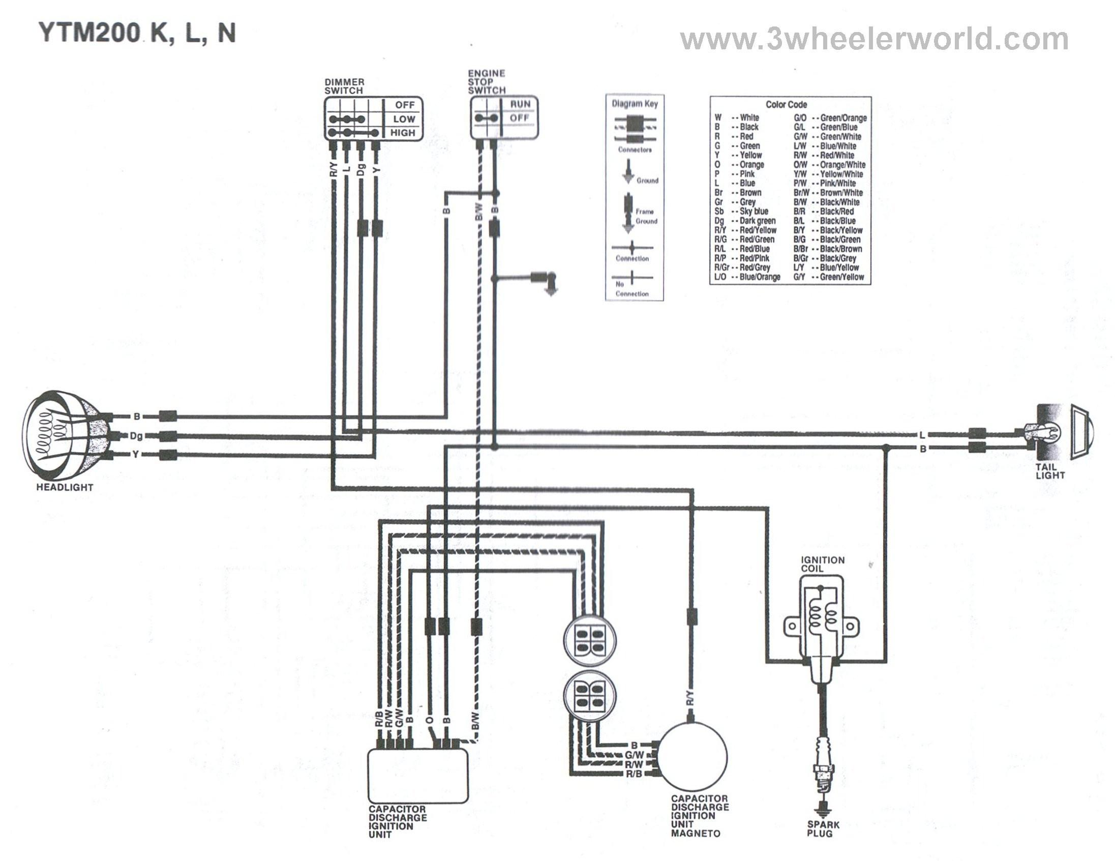 Yamaha 200 Blaster Wiring Diagram Reference Yamaha Blaster Wiring - Yamaha Blaster Wiring Diagram
