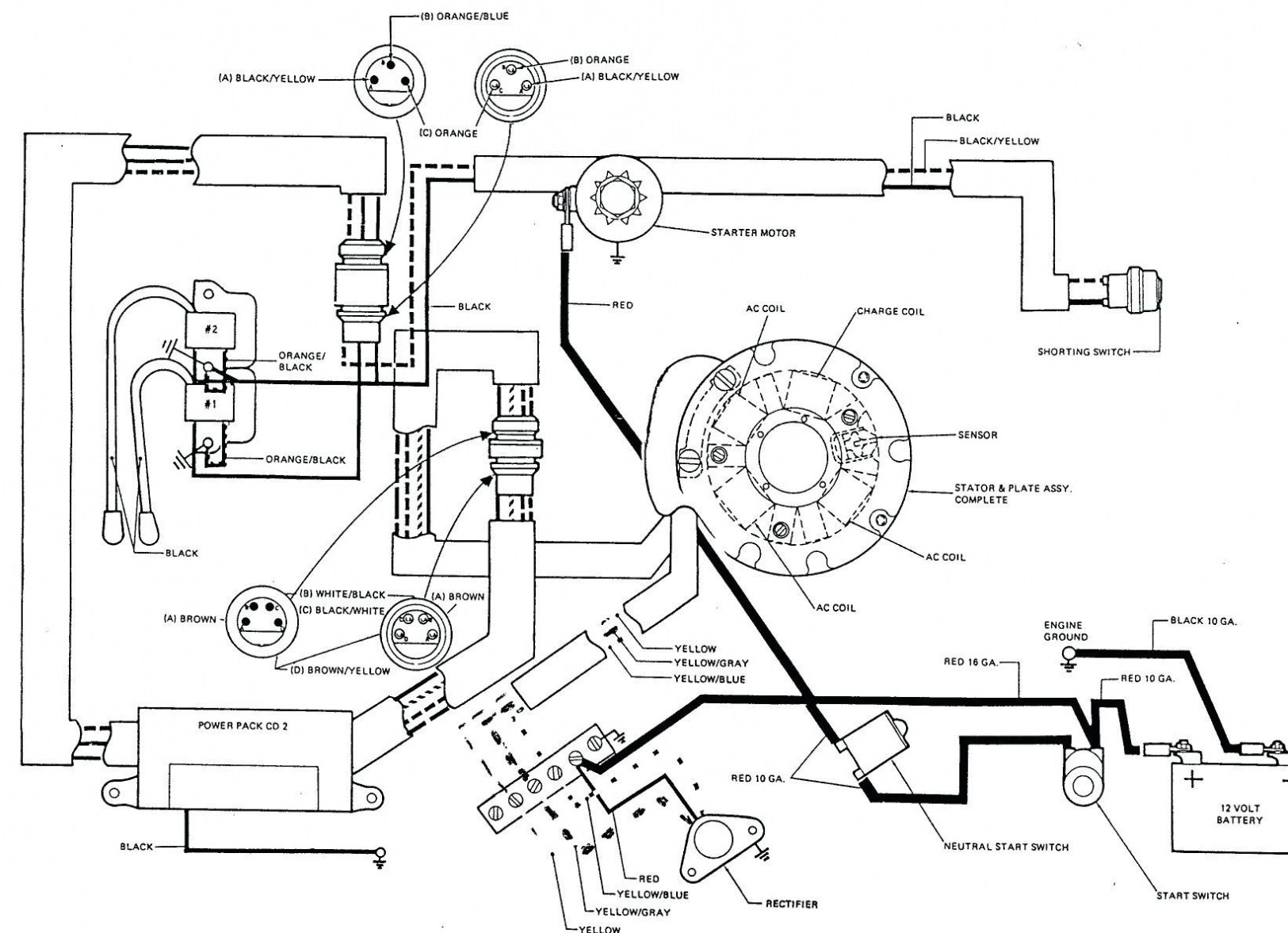 Yamaha 40 Outboard Wiring Diagram | Wiring Diagram - Yamaha Outboard Wiring Diagram Pdf