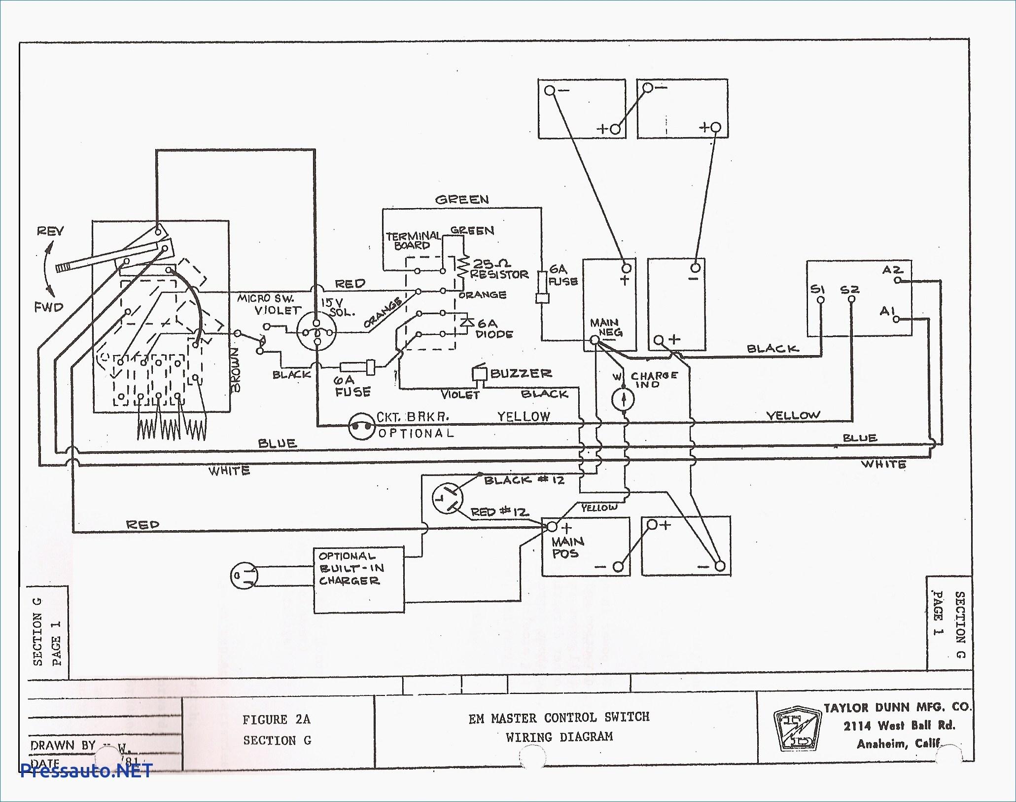 Yamaha G16 Golf Cart Wiring Diagram Electric   Wiring Diagram - Yamaha Golf Cart Wiring Diagram