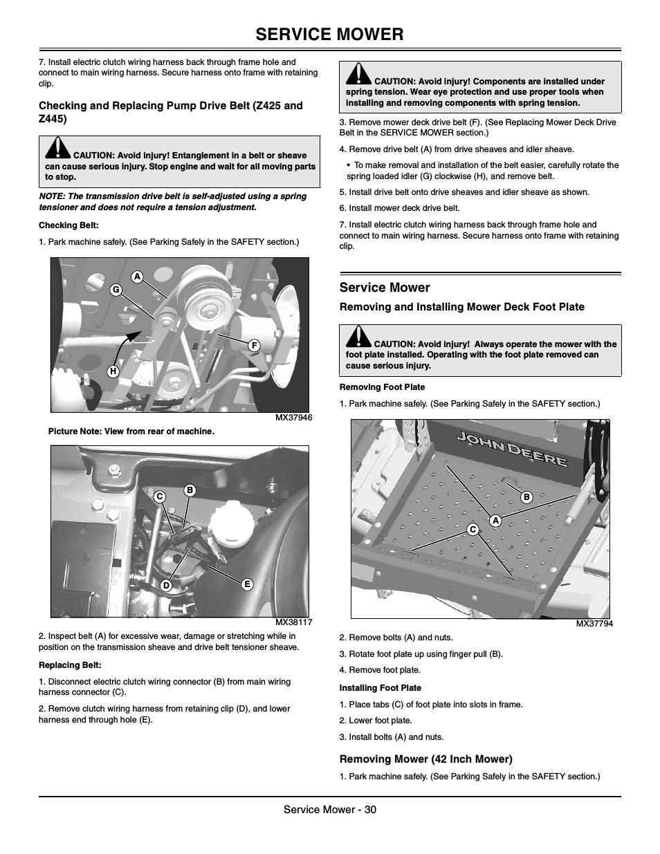 Z425 Wiring Diagram | Wiring Library - John Deere Z425 Wiring Diagram