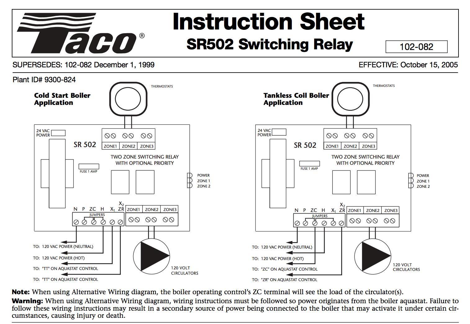 2 taco zone relay wiring diagram wiring diagram Honeywell Relay Wiring Diagram taco relay wiring thermostat wi fi wiring diagram